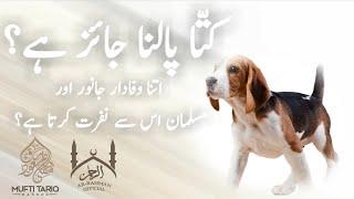 Kutta Palna Jaiz Hy? (Mufti Tariq Masood Saheb)