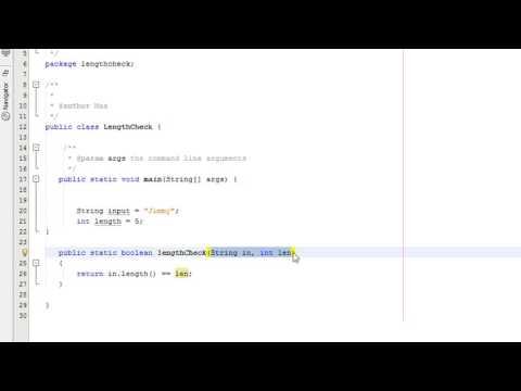 Java Validation: Length Check Tutorial (Part 1)