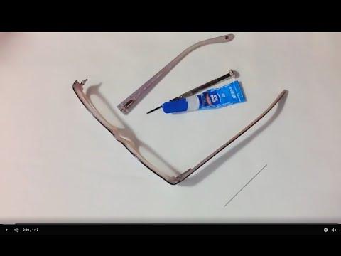 How To Fix Broken Glasses Arm