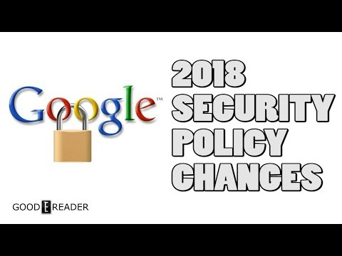 Google Security Policy Revisions