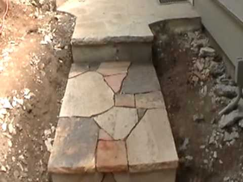 new flagstone steps