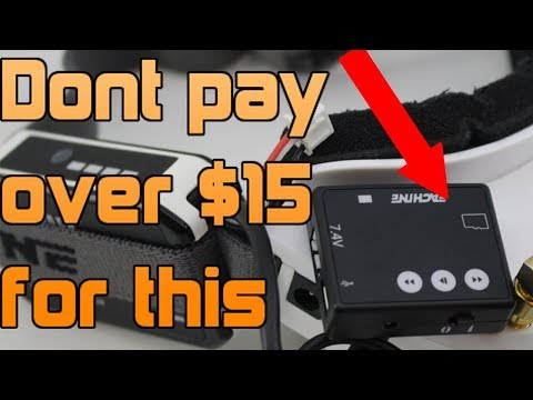 PROOF we are OVERPAYING for FPV goggles! Eachine dvr review
