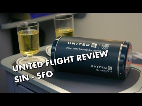 UNITED POLARIS FLIGHT REVIEW - Singapore to San Francisco Business Class