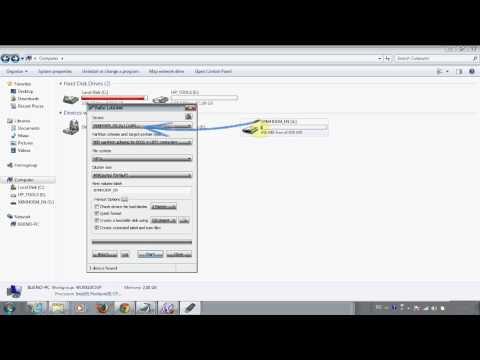 Installing Windows or Ubuntu from a USB drive