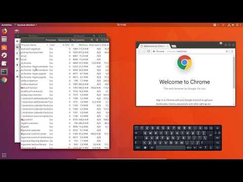 Ubuntu 18.04 LTS Linux OS: Keyboard Shortcuts | Onscreen Keyboard