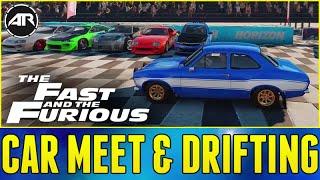 Forza Horizon 2 Online : FAST AND FURIOUS CAR MEET & DRIFTING!!!