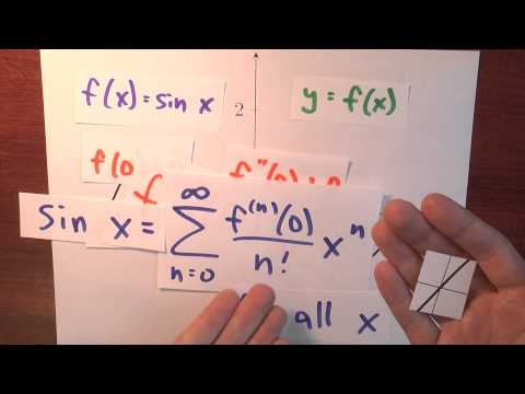 How are real analytic functions like holograms? - Week 6 - Lecture 11 - Sequences and Series