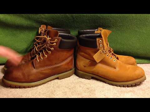 How to spot FAKE Timberland boots comparison 6' Wheats Replicas vs Real