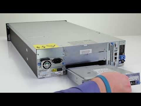 Dell Storage ML3: Remove/Install Tape Drive