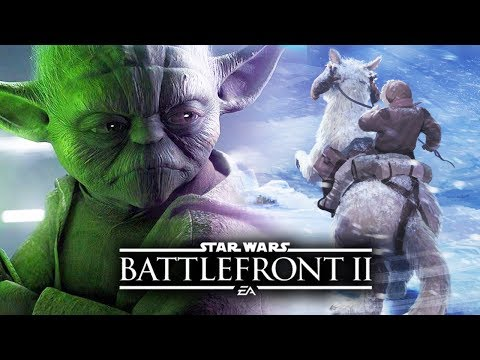 Star Wars Battlefront 2 - NEW EXCITING TEASES!  Tauntauns, Yoda and More! | Star Wars HQ