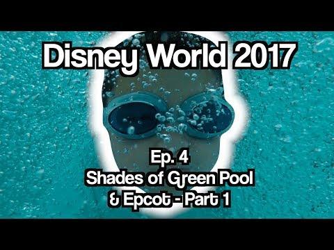 Disney World 2017 | Ep  4 | Shades of Green Pool & Epcot - Part 1
