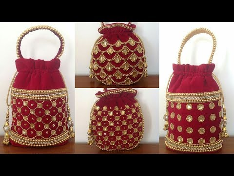 Beautiful Bridal Pouch Bags Collection