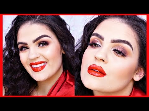VAENTINE'S DAY MAKEUP (Last Minute) | Jaclyn Hill MORPHE Palette