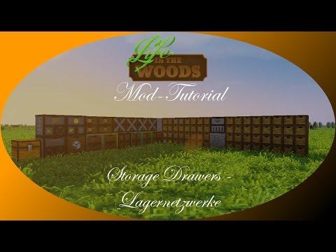 Storage Drawers (2/4) - Lagernetzwerke [Tutorial | Erklärung] Minecraft - Life in the Woods