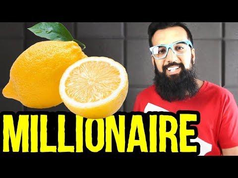 Lemon Millionaire   Make Money From Lemon Farming in Pakistan   Azad Chaiwala Show
