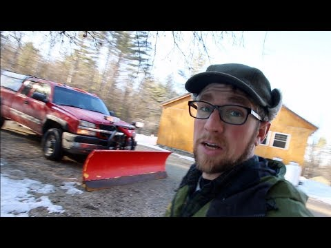 Preparing for a big snow storm ~ Collecting Maple Sap