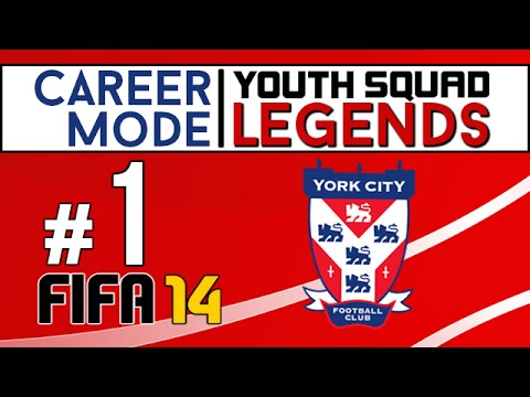 PS4 | FIFA 14 Career Mode | Youth Squad Legends 4 | Ep. 1
