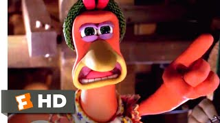 Chicken Run (2000) - Chickens Attack! Scene (8/10)   Movieclips