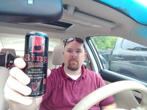 Petey's Bing Black Energy Drink