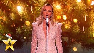 FIRST LOOK: Collabro duet with Amanda Holden with a heartwarming Christmas song   BGT: Xmas