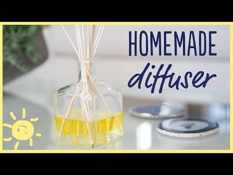 DIY | Homemade Diffuser (Only 3 Ingredients!)