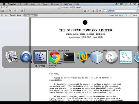 Converting Scanned PDF to Searchable PDF on Mac OS X (OCR)