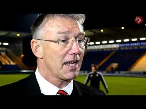 Nigel Adkins on grit and determination
