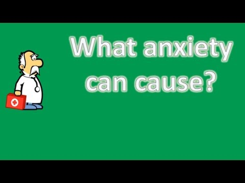 What anxiety can cause ? | Health FAQ Channel
