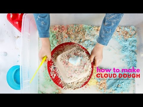 How to Make Cloud Dough: Basic, Colored, & Chocolate | CREATIVE BASICS Episode 2