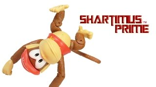 Diddy Kong World of Nintendo Jakks Pacific Donkey Kong Video Game Toy Action Figure Review