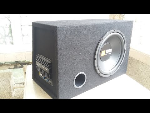 How to Make DIY Powered Car Subwoofer Box