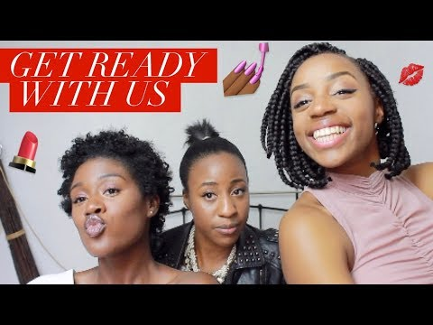 CHIT CHAT GET READY WITH US | KEMI & TOSIN