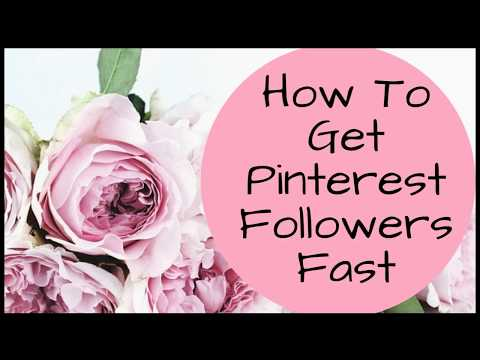How To Get Pinterest Followers Fast & For Free