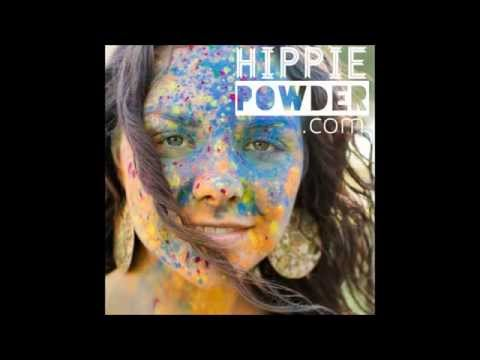 Cornstarch Paint Colored Powder for Runs and Holi | Hippie Powder™