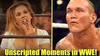 10 AWKWARD WWE MOMENTS That Were NOT Scripted!