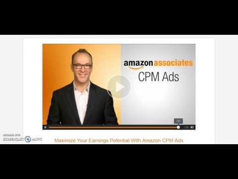 Amazon Affiliates NOW Get Paid Per Impression NOT Just Paid Per Click - New Amazon CPM