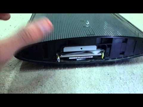 (How To Upgrade Hard Drive on PS3 Super Slim (12GB VERSION)