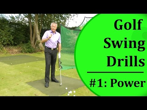 Golf Swing Drills For Beginners - #1: Swing Power | Learn-To-Golf.com