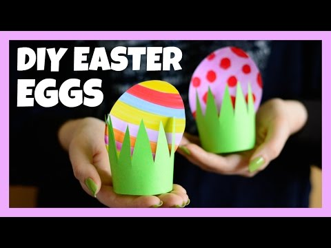 Paper Easter Egg Craft - Easter crafts for kids