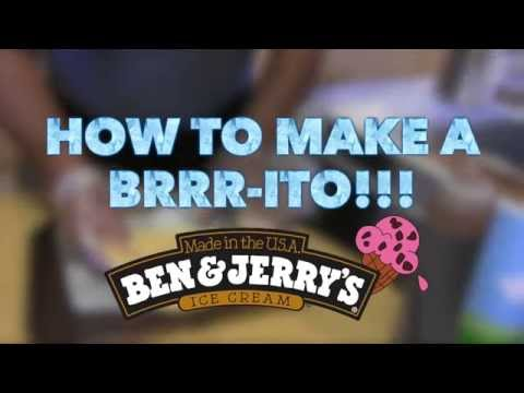 How to Make a Brrrito With Ben & Jerry's