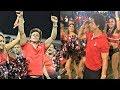 Shahrukh Khan Dancing With Cheerleaders In CPL 2018