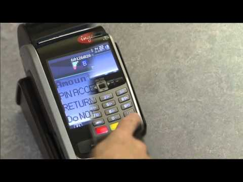 How to complete a Chip & PIN Sale on your Ingenico Portable iWL250 card terminal