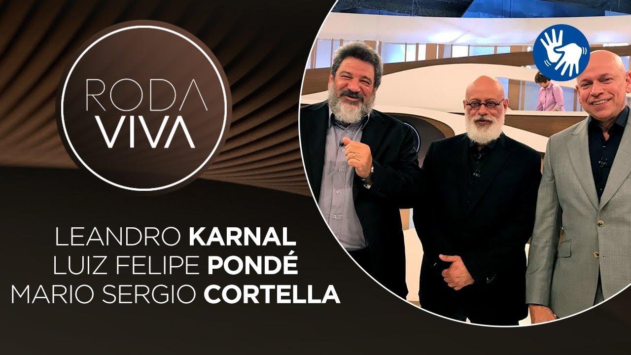 Roda Viva | Mario Sergio Cortella, Leandro Karnal e Luiz Felipe Pondé | 16/12/2019