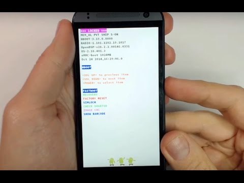 HTC One mini 2 hard reset (100% working solution)