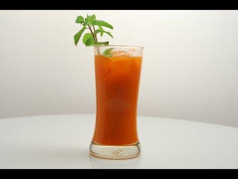 Refreshing Carrot Juice | New Season | Cooksmart | Sanjeev Kapoor Khazana