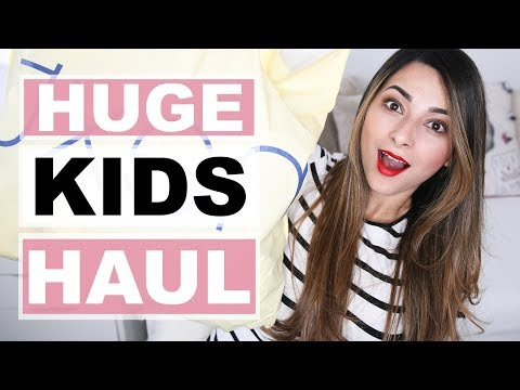 HUGE KIDS HAUL - MAY 2018   WHAT'S NEW IN NEXT?   Ysis Lorenna