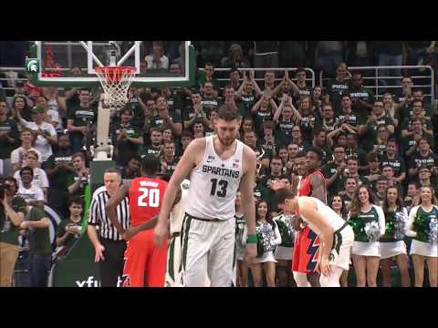 Michigan State Seals Share of Big Ten Title on Senior Night