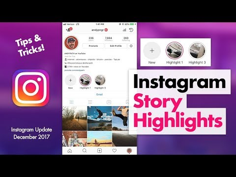 Instagram stories Highlights -New Feature in Hindi 2018/2019 ll Step by step ll Tech Bunch