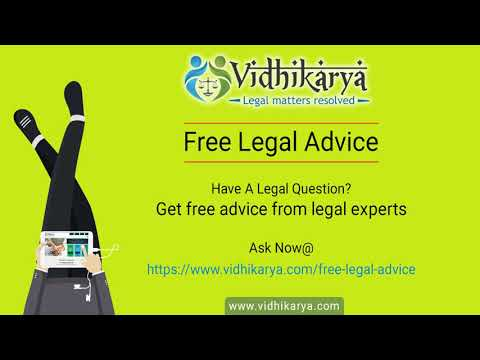 Free Legal Advice from Vidhikarya