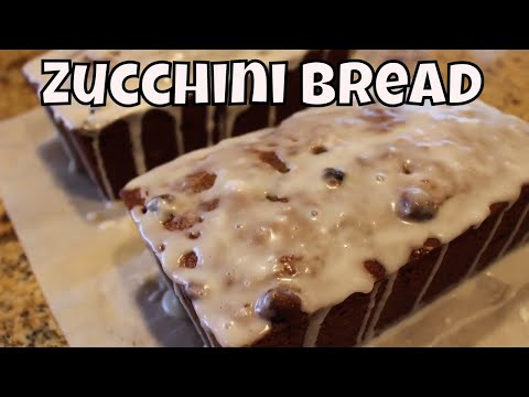 Yogurt & Blueberry Zucchini Bread